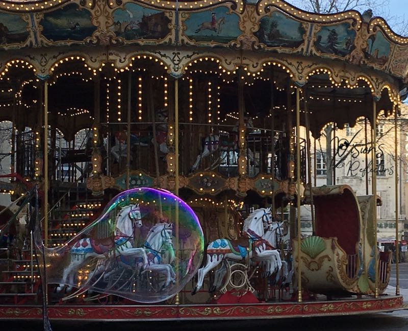 Carousel in a Bubble