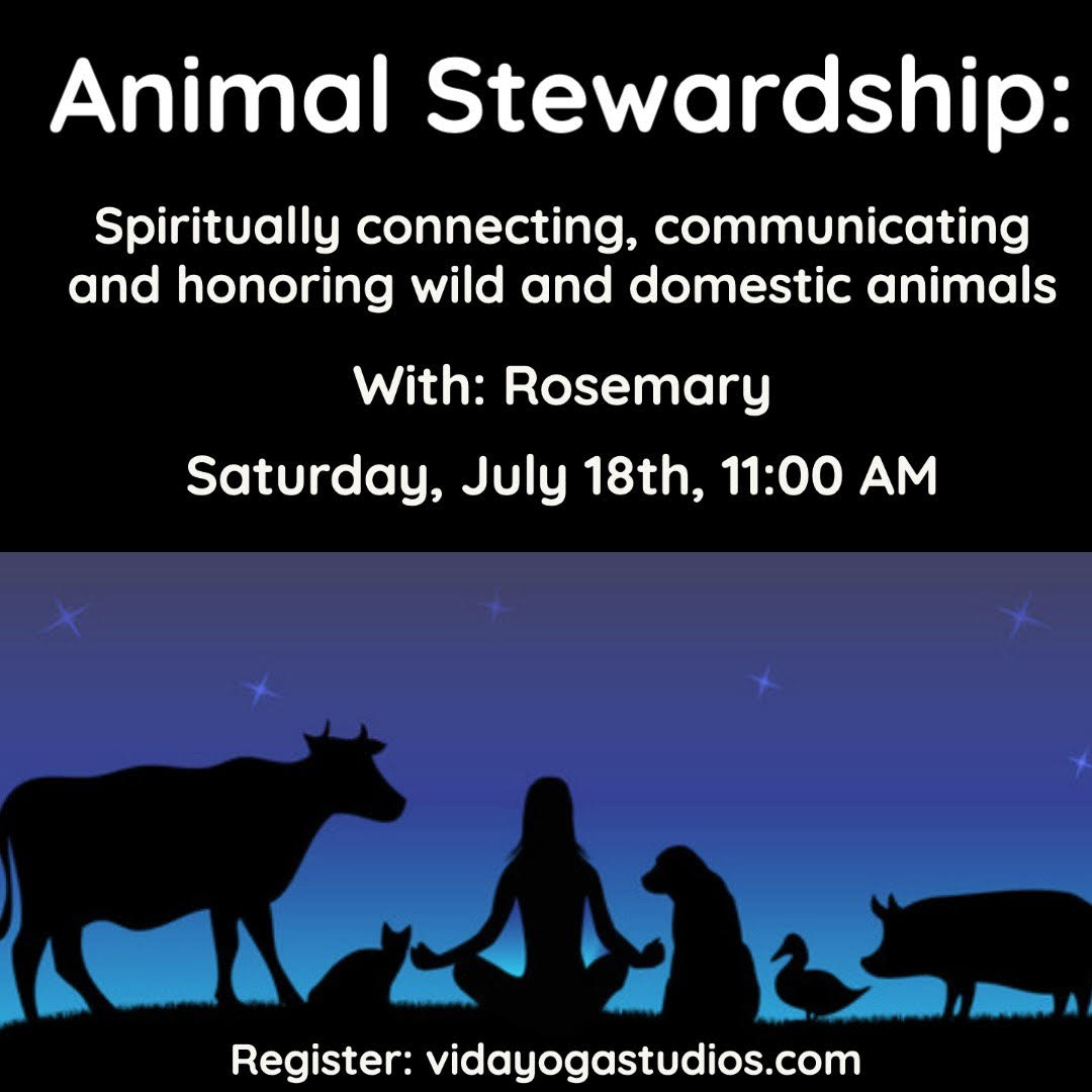 Animal Stewardship- Online Workshop